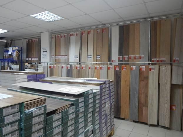 Ламинат в продаже в магазине Вопрос ремонта