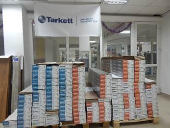 Ламинат Таркетт в продаже салон Вопрос Ремонта в МЕГЕ