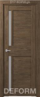 Deform D17 дверь межкомнатная экошпон
