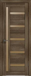 Межкомнатная дверь Лайт 18 ДО Дуб трюфель