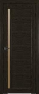 Межкомнатная дверь Лайт 9 ДО Дуб шоколад