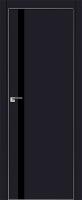 Дверь 6E Черный матовый, черный лак