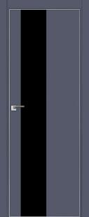 Дверь 5E Антрацит, черный лак