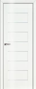 Дверь 45L Белый люкс, графит