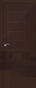 Дверь 45L Терра, графит