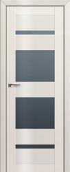 Дверь 72L Магнолия люкс, графит