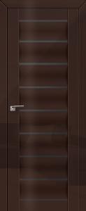 Дверь 76L Терра, графит
