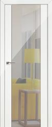 Дверь 8L Белый люкс, зеркальный триплекс