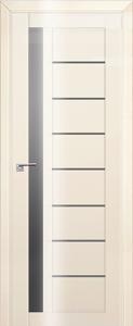 Дверь 37L Магнолия люкс, графит