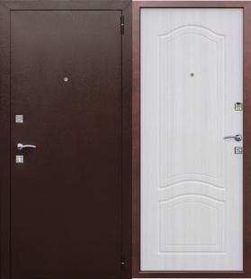 Гарда  Доминанта Белый Ясень дверь входная металлическая