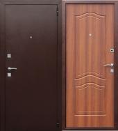 Гарда Доминанта Рустикальный Дуб дверь входная металлическая