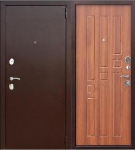 Гарда 8 мм Рустикальный дуб дверь входная металлическая