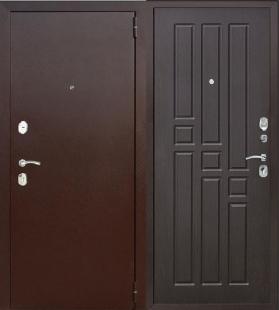 Гарда 8 мм Венге дверь входная металлическая