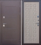 Гарда Изотерма венге дверь входная металлическая