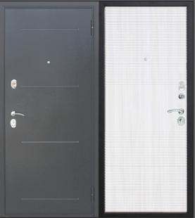 Дверь Гарда Муар 10 мм дуб Сонома входная металлическая