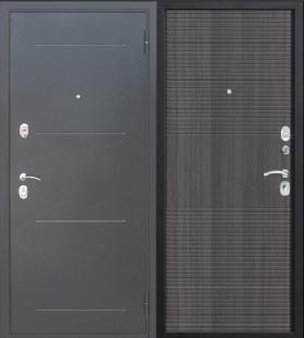 Дверь Гарда Муар 10 мм венге Тобакко входная металлическая
