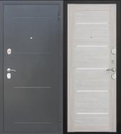 Гарда Муар Царга Лиственница Беж дверь входная металлическая