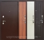 Гарда 8 мм белый Ясень дверь входная металлическая