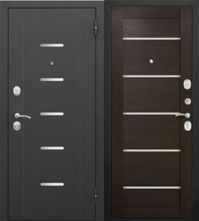 Гарда муар Царга Лазер венге дверь входная металлическая