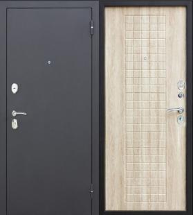 Гарда муар 8 мм Дуб Сонома дверь входная металлическая