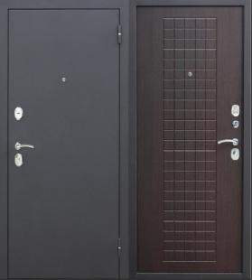Гарда муар 8 мм венге дверь входная металлическая