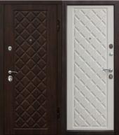 Гарда Камелот беленый Дуб дверь входная металлическая