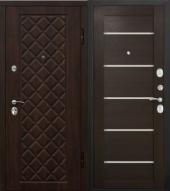Гарда Камелот Царга венге дверь входная металлическая