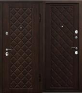 Гарда Камелот темная Вишня дверь входная металлическая