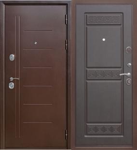 Дверь Гарда Троя венге входная металическая