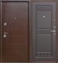 Гарда Троя Белый Ясень дверь входная металлическая