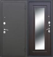 Гарда Царское зеркало Муар венге дверь входная металлическая
