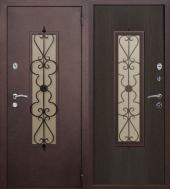 Дверь Коваль, медь антик