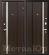Дверь МеталЮр М2, венге