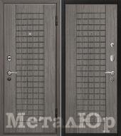 Дверь МеталЮр М4, графит