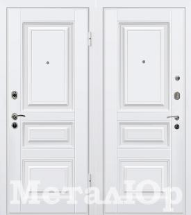 Дверь МеталЮр М11, белый