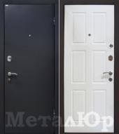 Дверь МеталЮр М21, белый