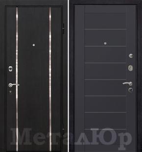 Дверь МеталЮр М8, Антрацит
