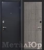 Дверь МеталЮр М24, графит