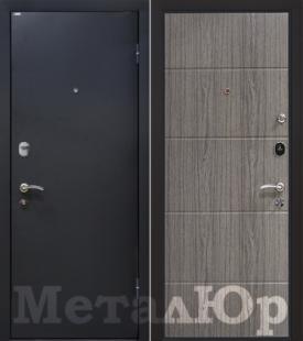 Дверь МеталЮр М25, венге