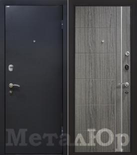Дверь МеталЮр М25, графит