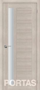 Дверь S28 Лиственница крем