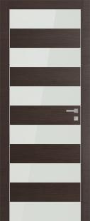 8Z Грей Кроскут Белое стекло