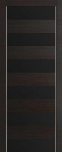 8Z Венге Кроскут Черное стекло