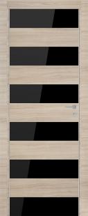 8Z Капучино Кроскут Черное стекло